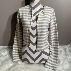 Harlowe & Graham Size S Open Front Sweater Jacket